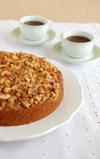 Banana walnut cake (with quinua flour) / Bolo de banana e nozes (com farinha de quinua)
