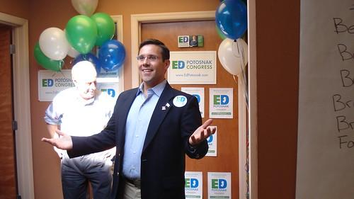 Ed Potosnak, DFA endorsed