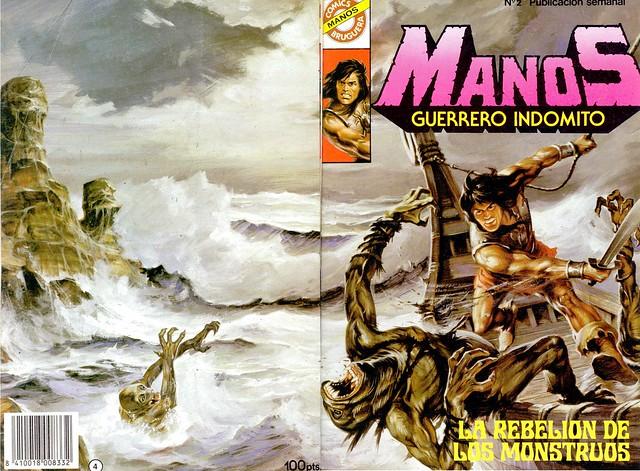Manos Guerrero Indomito, Cover #2
