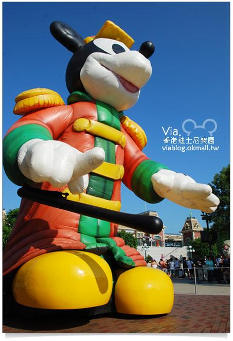 【香港迪士尼】跟著via玩香港(3)~迪士尼卡通人物歡樂巡遊11