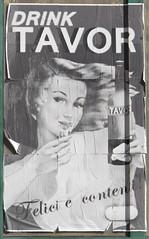 Drink Tavor© (dieciparsec) Tags: sardegna canon macintosh sardinia advertisement pubblicità macomer canonpowershotg11