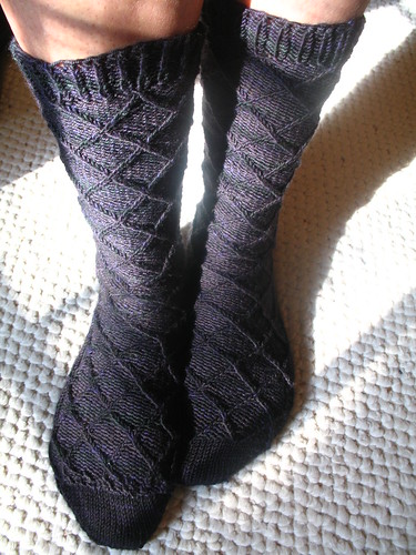 Lattice socks