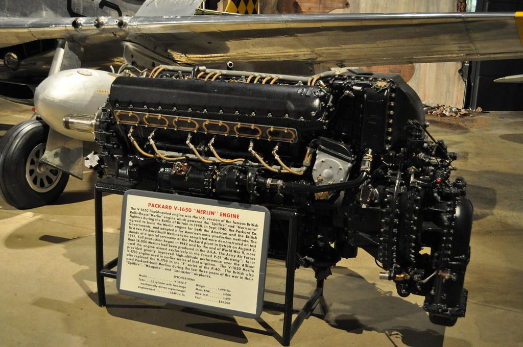 Packard V-1650 Merlin (Rolls-Royce Merlin)