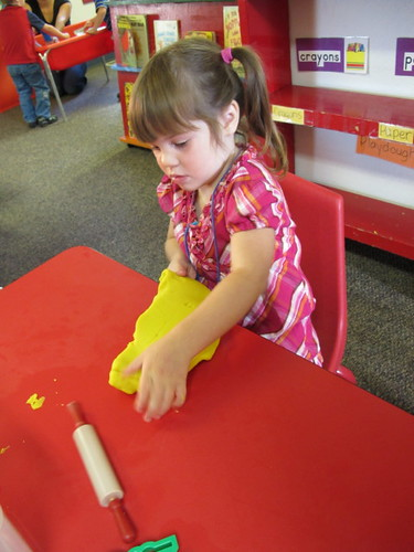 Pre-school play-doh is awesome!