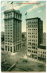 Lincoln & Todd Buildings, Louisville, Ky. (deatonstreet) Tags: street vintage buildings market kentucky postcard lincoln louisville todd