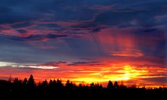 Sunset over Saskatoon (Harry2010) Tags: saskatchewan saskatoon sunset explore cloudy night wow