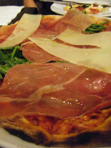bella pizza: parma ham