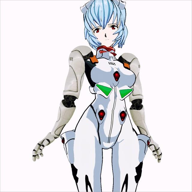 AVATAR REI EVA 00 BOX none invisible prim & [GW] Cybernetic Arms