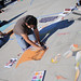 Student artists demonstrate talents during ArtWalk 2008.