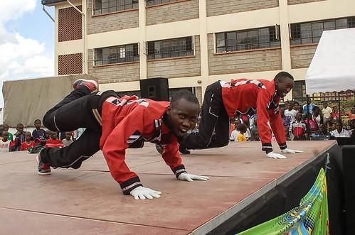 AHF Kenya Streeet Dance Competition