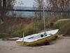 Ready for one last sail (cgwilfongphotos) Tags: sailboat sailing boat beach lake huron lakehuron mast sail ontarioyourstodiscover portelgin beached