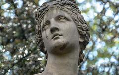 - (Bana Peter) Tags: sculpture beauty nymphenburg münchen castle deutschland bana 2017 nikon d5200 bayern chateaux statue tear cry