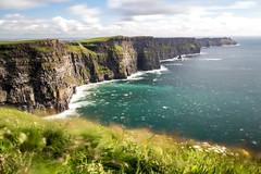 Solid as a Rock! (Fabian F_) Tags: cliffs moher ireland longexposure stone rock wave sea water wind vacation atlantik ocean