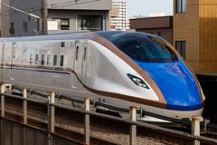 Hokuriku Shinkansen W7 series 001 (A.S. Kevin N.V.M.M. Chung) Tags: train rail japan omiya jr shinkansen highspeedrailway