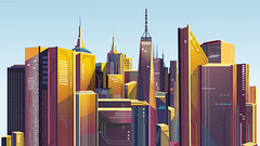 New York (romandaneghyan) Tags: blue brown cloud colorul green illustrated image picture sky sunny yellow animated animation city creation creative creativeart creativedesign design drawing illustration illustrationart newyork newyorkcity painted painting skyclouds skyscrapers york buildingsarchitecture desinging animationart builsings illustrationdigital illustrationdrawing skyscraperbuilding different art renderforest
