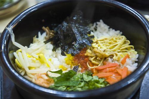 今日晚餐 石鍋拌飯 韓國