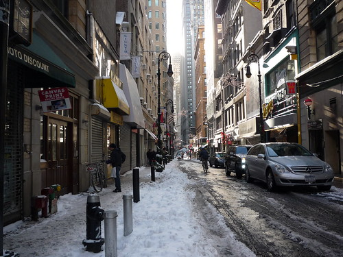 Downtown, holidays, New York City