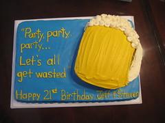 Beer Mug birthday cake cincinnati ohio