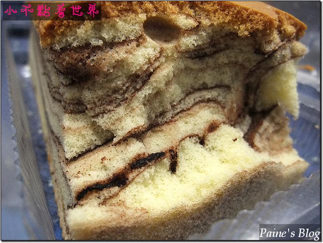 餐包與大理石蛋糕