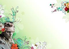 Beethoven (Million Dollar Design) Tags: illustration magazine beethoven janine