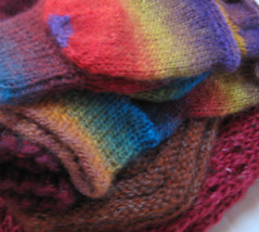 christmas knitting 2009