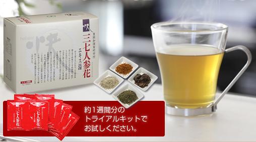 トライアルセット 田七人参 お茶
