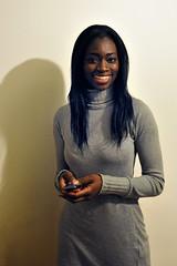 Oumou's smile (jmvnoos in Paris) Tags: girls portrait woman paris france sexy girl smile portraits nikon women femme smiles fille sourire filles femmes oumou sbastien sourires d300 choristes choriste backingvocalist piemontesi backingvocalists jmvnoos
