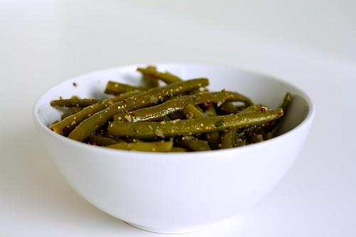 Green Beans w/Bistro Mustard Vinaigrette