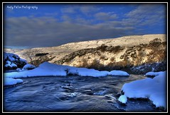 LOUP WATER!! (Andyboy594) Tags: winter snow ice waterfall nikon stream december freezing sigma loup 1770 f28 hdr fintry campsies polariser d80 of
