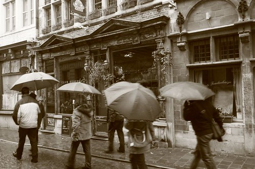 Rain in Gent...