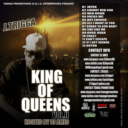 "Tawag Promotions & G.I.G. Enterprises Presents ""King of New York"" Vol. II Hosted by DJ Ames"