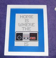 Perfect for the NES (Cheshire Grin) Tags: crossstitch geek nes spritestitch