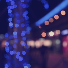 Blue (night) (t.t@o) Tags: blue light music night canon square december bokeh 5d lust cinematic 2009 musique carr dcembre theraveonettes 24105 lesud colorphotoaward cinmatique carrment 5dmkii lessaisonsfroides