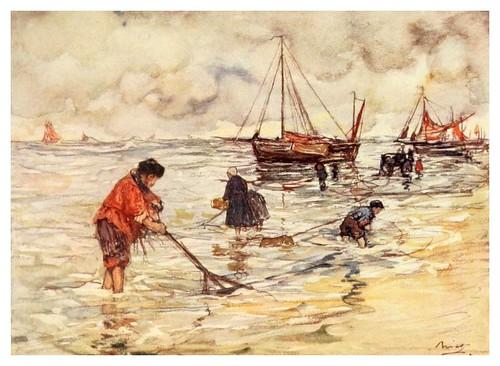 025- La pesca de camarones-Holland (1904)- Nico Jungman