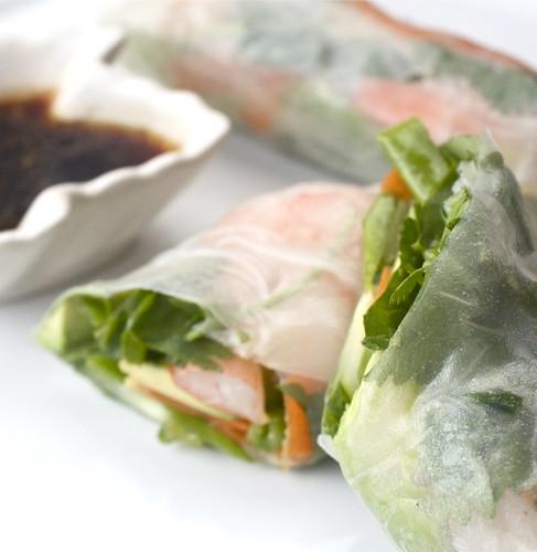 Shrimp & Veggie Spring Rolls