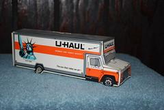 u haul bank truck (ssonny62) Tags: truck bank cardboard uhaul boxvan