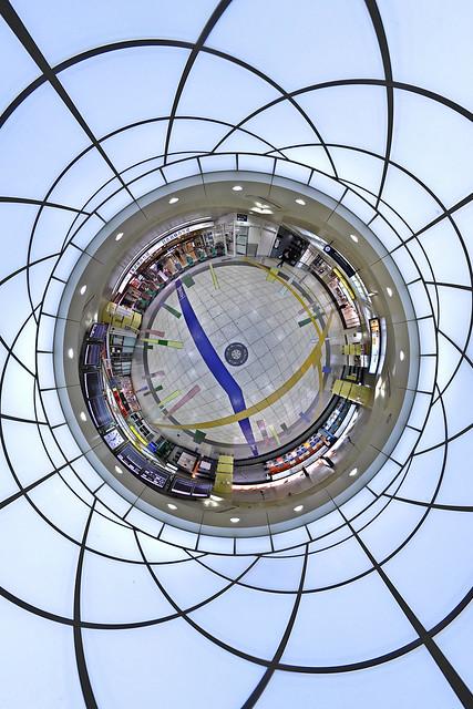 Kitasenju station planet