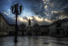 Piazza San Carlo (diego_87) Tags: italy art architecture torino san italia arte piemonte carlo piazza turin piedmont architettura hdr d60 nikond60