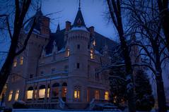 school again (Ros_K Photographie) Tags: winter snow france paul nikon hiver neige nuit institut ecully bocuse d90