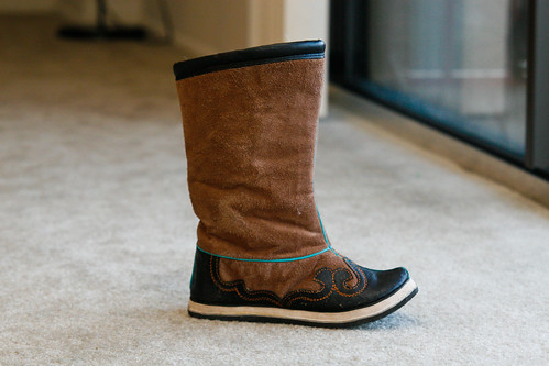 New Mongolian Boots