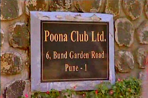 Poona Club Ltd Entrance Sign
