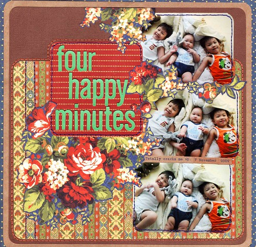 Four happy minutes