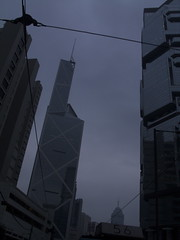 (PhiBo23) Tags: glass facade buildings hongkong skyscrapers dusk thecentre bankofchinatower gebude glas queensway lippocentre fassade cladding admiralty wolkenkratzer abenddmmerung