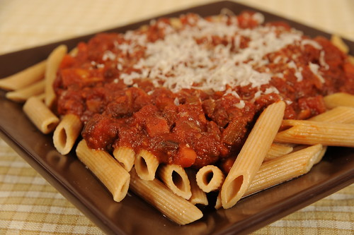 Donnas Enlightened Bolognese Sauce