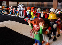 We should never have accepted their invitation (Stfan) Tags: party toy actionfigure starwars stormtroopers stormtrooper figurine jouet chenille playmobil hasbro bunnyhop queueleuleu stormtroopers365