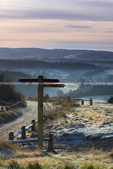 IMG_101_1255 (www.clivejonesphotography.com) Tags: blue trees winter sun white mist cold church field sunrise fence landscape frost path hill frosty surrey valley layers signpost guildford waymarker footpath northdowns albury northdownsway newlandscorner canonef50mmf14usm surreyhills stpeterandstpaul sooc straightoutofcamera canoneos50d canon50d tillingbournevalley alburychurch