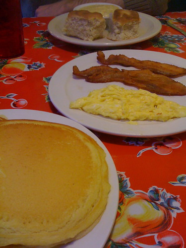 Breakfast from the West St. Diner, Germantown, Tenn.