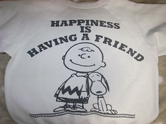 WAREHOUSE VINTAGE PEANUTS 2010 HAPPINESS