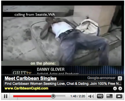 Inapproriate Google ads - Haiti disaster 03