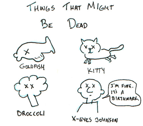 366 Cartoons - 344 - Things That Might Be Dead